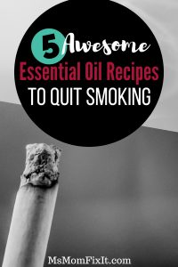 5 awesome essential oil recipes to quit smoking