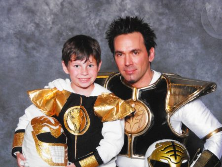 Jason David Frank and my little ranger