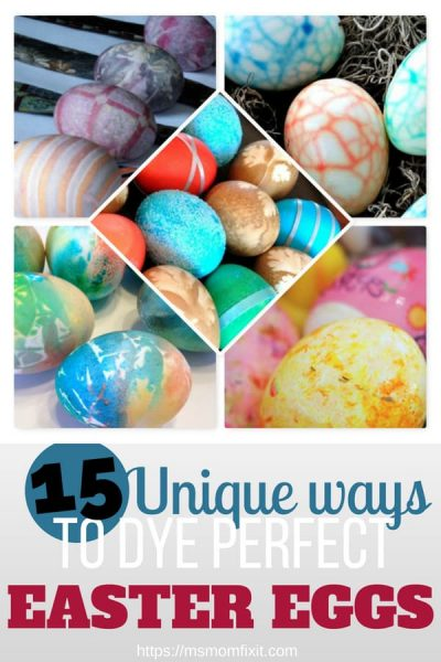 15 Unique ways to dye perfect Easter Eggs