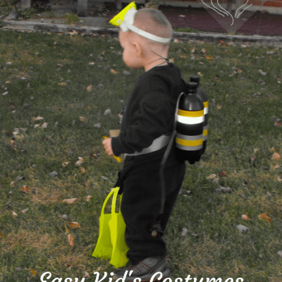 Easy Children's Costumes in a Flash
