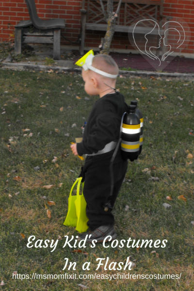 kids costumes scuba diver