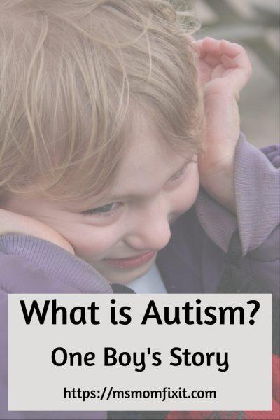 autism boy