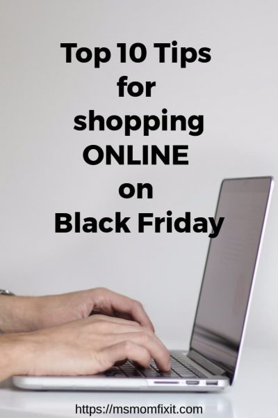 Tips for shopping online on black friday