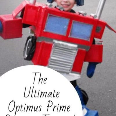 The Ultimate Optimus Prime Costume Tutorial
