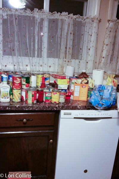pantry overflow