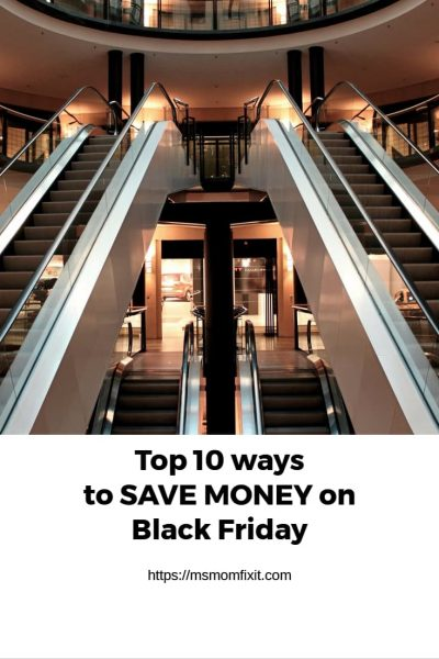Top 10 ways to SAVE money on Black Friday