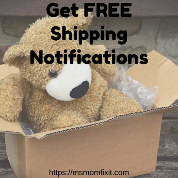 free shipping notifications