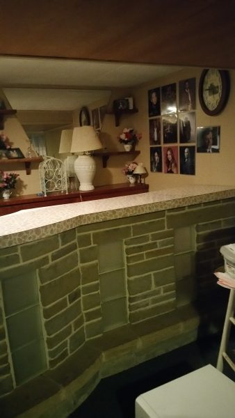 Basement Bar Before