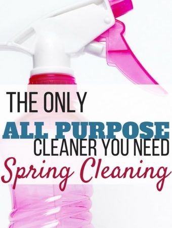 all-purpose, all natural cleaner