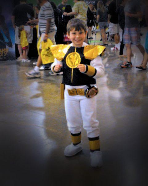 White Power Ranger Costume