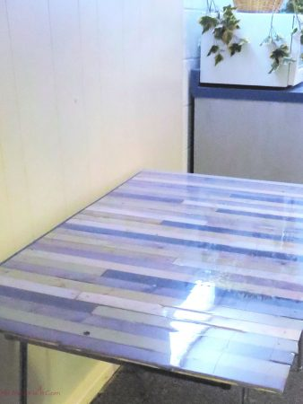 Final Up-cycled Tabletop
