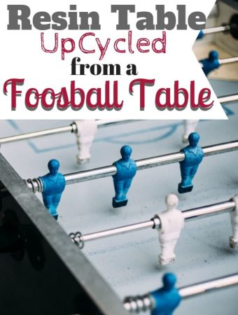 Foosball Table Upcycle