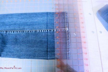 Hemming Jeans 3