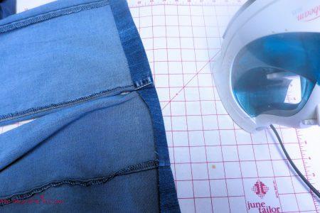 Hemming Jeans 4