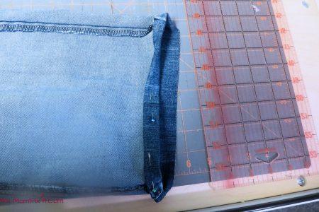 Hemming Jeans 6