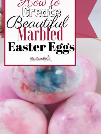 How to Create Beautiful marbled Easter Eggs