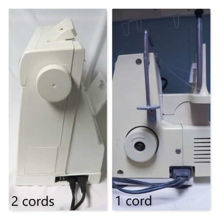 sewing machine cord types