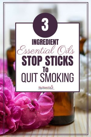 Essential Oils Stop Smoking Sticks