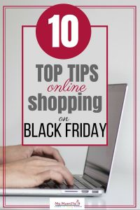 top tips for online shopping on black friday