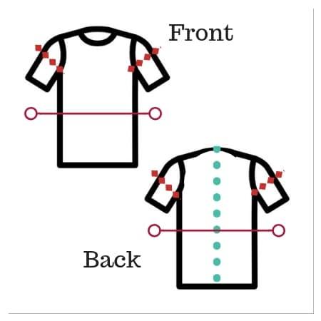 Shirt cuts