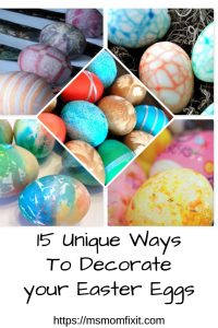 15 Unique Ways to Decorate your Easter Eggs
