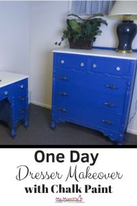 One Day Dresser Makeover