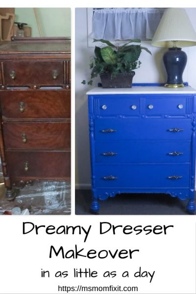 Dreamy Dresser makeover in as little as a day
