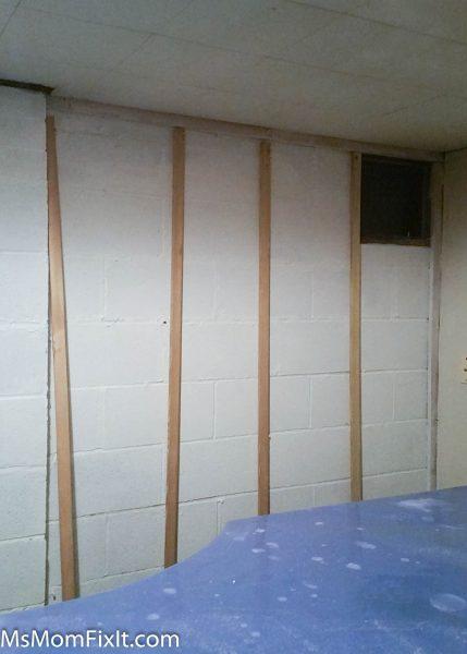 Wall Framing for faux shiplap