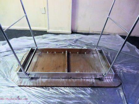 Foosball Table underside