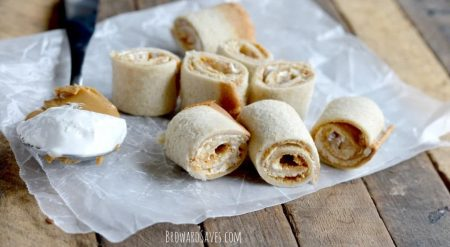 Peanut butter roll-up