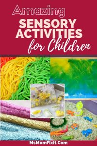 Amazing Sensory Activities for Children
