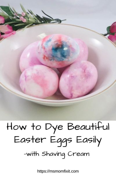 How to Dye Beautiful Easter Eggs