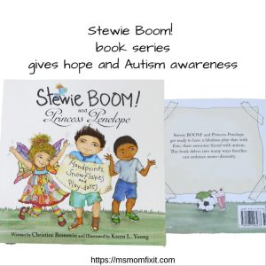 Stewie Boom!- book series gives hope and Autism awareness