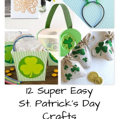 12 Super Easy St. Patrick's Day Crafts for Kids!