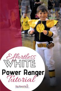 White Power Ranger Costume Tutorial