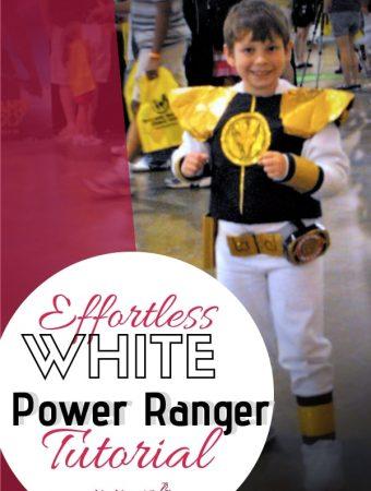 Effortless White Power Ranger